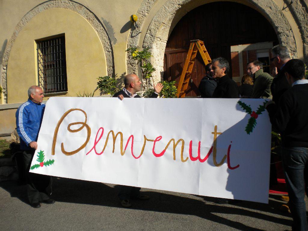 I Padri Mercedari, l'Oratorio Mercedario N.S. di Bonaria, i genitori dei ragazzi del