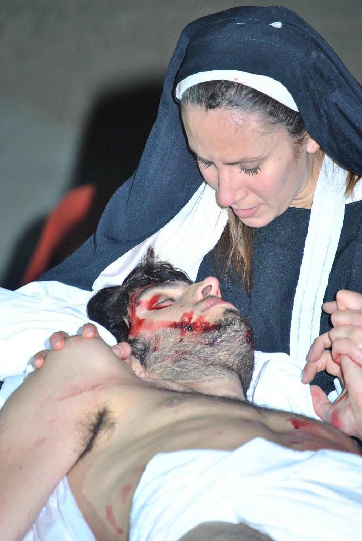 Drammatizzazione della Passione di Cristo 31 marzo 2012